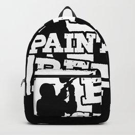 Paintball Paintball Player Paintballer Gotcha Backpack