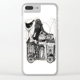 life is a journey Clear iPhone Case