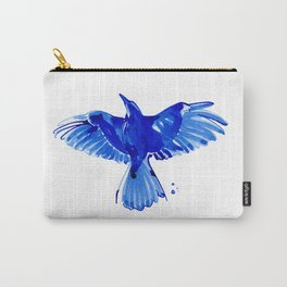 Blue bird wings Carry-All Pouch