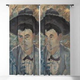 Henri de Toulouse-Lautrec - Der junge Routy auf Schloss Céleyran Blackout Curtain