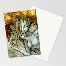 Golden Dryad Stationery Cards