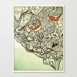 &viva Canvas Print