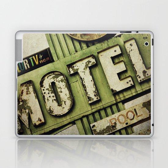 Circle K Motel Sign  Laptop & iPad Skin
