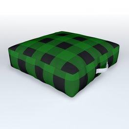 Pine Green Buffalo Check - more colors Outdoor Floor Cushion