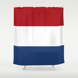The Netherlands Flag / The Dutch Flag Shower Curtain