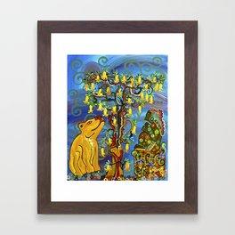 """""""Xochipilli's Golden Child"""" by ICA PAVON Framed Art Print"""