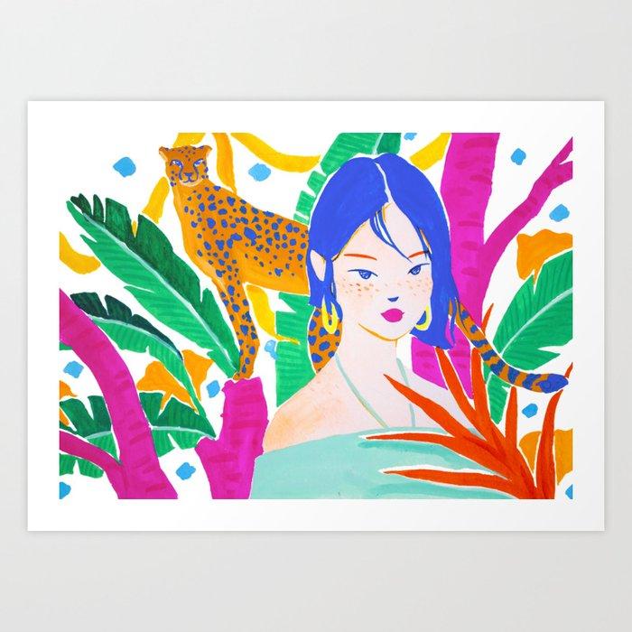 Wild Jungle Kunstdrucke