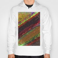 bands Hoodies featuring Class Seven Atmospheric Bands by Theoretical Art
