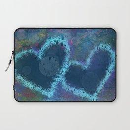 Four hearts Laptop Sleeve
