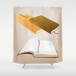 Book collection Shower Curtain