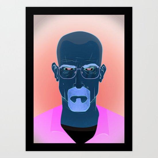 Mr. White Art Print