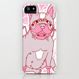 Frenchy iPhone Case
