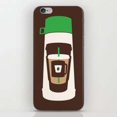 The Coffee Stacker iPhone & iPod Skin