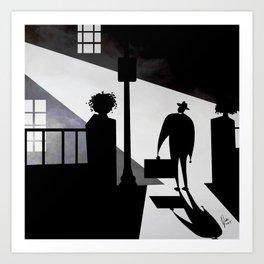 Friedkin's The Exorcist Art Print