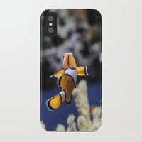 nemo iPhone & iPod Cases featuring Nemo by lulu althuwaini