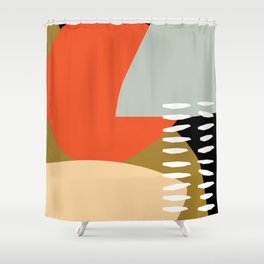 Warmer Days Shower Curtain