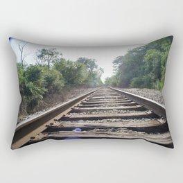 Down The Tracks (1) Rectangular Pillow