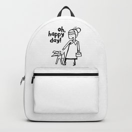 Oh, happy day! Backpack