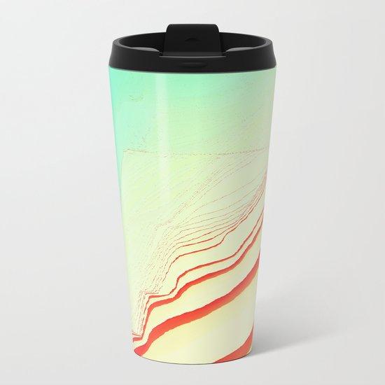 PlayTime glitch Metal Travel Mug