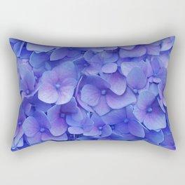 Hydrangea blue Rectangular Pillow