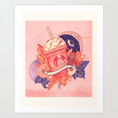 Basic Witch Art Print