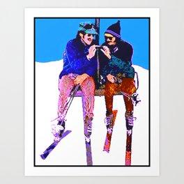 The Doobie Brothers Art Print