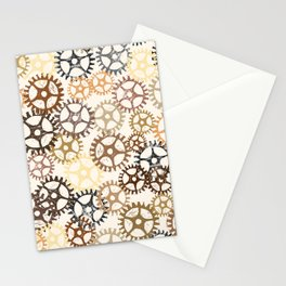 Geared Up - by Kara Peters Stationery Cards
