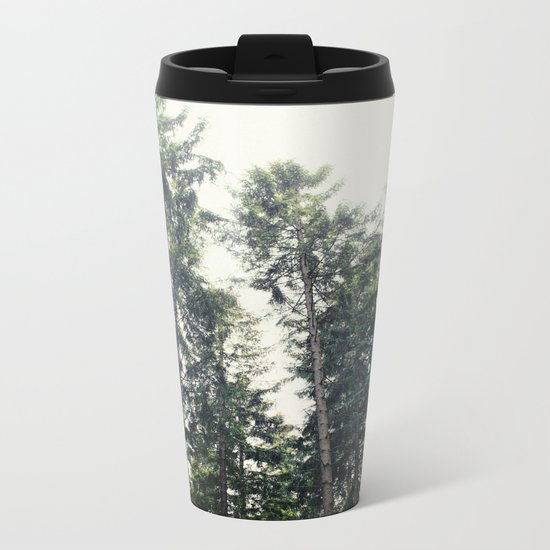 Up In The Woods Metal Travel Mug