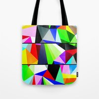 trip Tote Bags featuring Trip by Shaun Drew