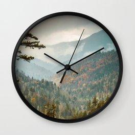 Great Smokies Wall Clock