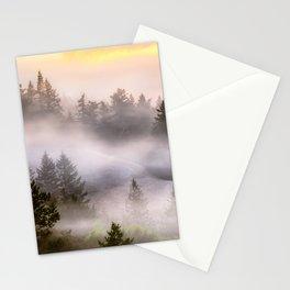 Misty Mount Tamalpais State Park Stationery Cards