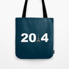 2014-Paris Tote Bag