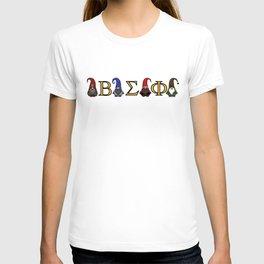 ΒΣΦ Christmas Gnomes on White (BSP) T-shirt