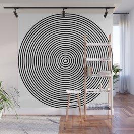 Ever Decreasing Circles Wall Mural