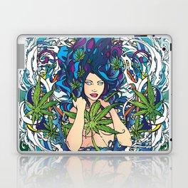 GANJA GIRL Laptop & iPad Skin