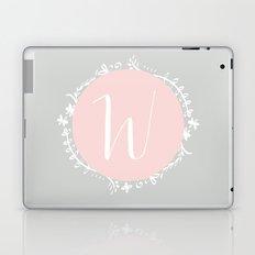 Garland Initial W - Grey Laptop & iPad Skin