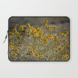 Brittle Bush 4 At Coachella Wildlife Preserve Laptop Sleeve