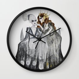 The Moon and the Sun Wall Clock