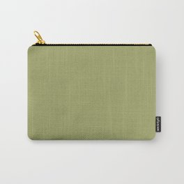 Moss Green   Solid COlour Carry-All Pouch