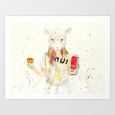 M¡lk Art Print