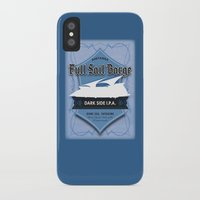 ale giorgini iPhone & iPod Cases featuring Full Sail Barge Ale by Mike Sapora Demaine