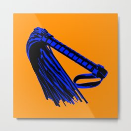 Orange + Blue: Flogger Metal Print
