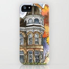 Victorian Autumn iPhone Case