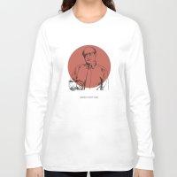 rothko Long Sleeve T-shirts featuring Mark Rothko by Mark McKenny