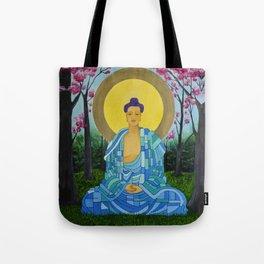 Meditation in bloom Tote Bag