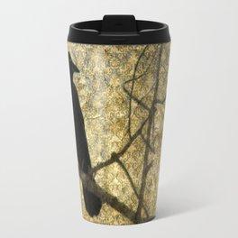 Crow Of Damask Travel Mug