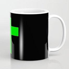 Christian Cross 11- green Coffee Mug