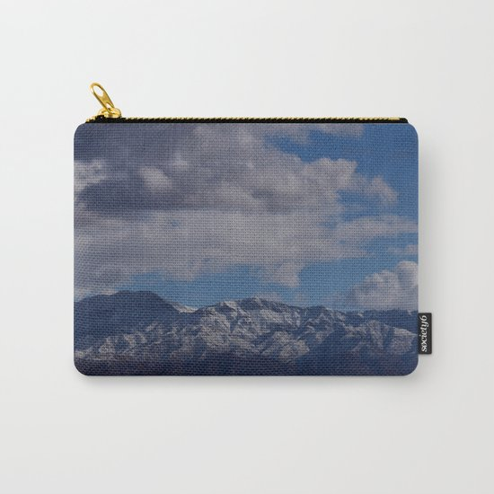 Desert Snow on Christmas! Carry-All Pouch