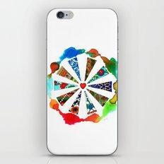 ONE HEART iPhone & iPod Skin