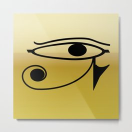 Eye of Horus1 Metal Print
